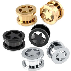 Unisex-Ohr-Spur Fashion Jewelry Geschenk Tunnels Plugs Top-Qualität Ears Expander Ringe Neue Ankunft