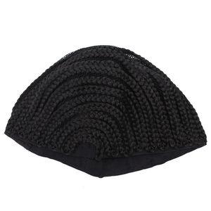 Старая улица косички Крышка для облегчения шить в плетеные парик шапки для изготовления парик бесклеевой волос чистая лайнер крючком парик шапки(S/M / L)