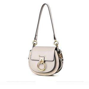 Lucky2019 Woman Leather Genuine Tide Sagittarius Saddle Ma'am Single Shoulder Span Package Bag
