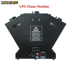 3-head fiamma di GPL macchina forte effetto fase Lanciafiamme DMX effetto fuoco macchina effetti scenici macchina fiamma
