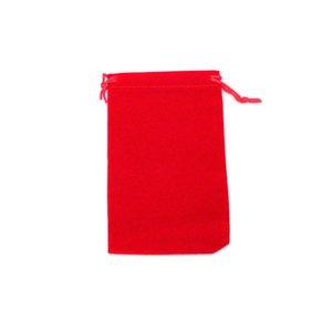 الجملة اللون حقائب 10x16cm المخملية كبيرة مجوهرات هدية متعدد الرباط الصلبة حقائب تغليف 100pcs التي / الكثير الحقيبة CheapHandmade Aavuo
