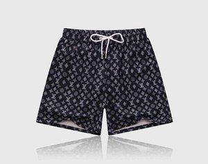 2020 new summer fashion drawstring shorts new quick-drying SwimWear printed board beach pants men men swimming shorts