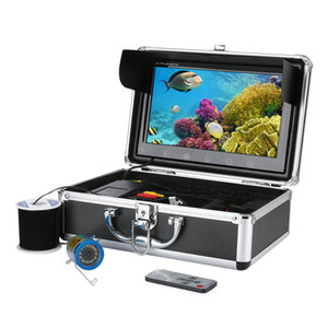 Underwater 10inch Camera HD Visual Fishing System With LCD Screen IRLED Light Infrared Lamp ICE Fishing Hot Sell - EU 50M