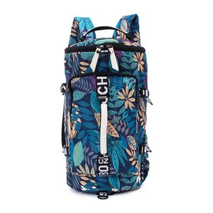 Pop2019 Color More Printing Both Bothers Package Dry And Wet Separation Will Capacity Borsa da viaggio al computer all'aperto Yoga Sano