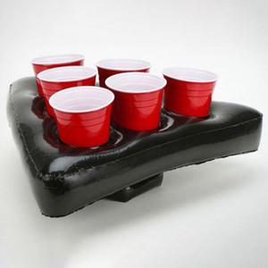 Gonfiabile Beer Pong Pong cappello galleggiante gioco per Piscina per feste da spiaggia gonfiabili giocattoli per i bambini Beer Giant