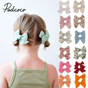 2 PC / 1 Paar Baby-Haar-Clips Hairpin Bandbowknot netten Baby-Haar-Stifte für Kinder Kleidung Accessoires Großhandel Neuheit