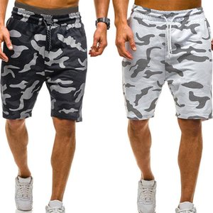 New Men Camouflage Shorts Casual Masculino Hot Sale Militar carga Shorts comprimento do joelho Mens Verão Calças Curtas Homme