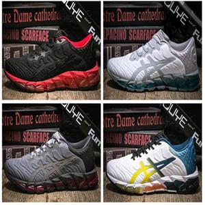2017 Nueva original GEL-QUANTUM 360 CM T6G1N / T5J1N-0990 de los zapatos corrientes de los hombres de calidad superior decoloración Botas Sport zapatilla de deporte Tamaño de los zapatos