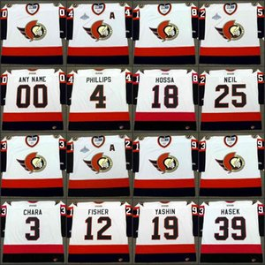 Ottawa Senators 3 Chara de Zdeno 4 CHRIS PHILLIPS 12 Mike Fisher 18 MARIAN HOSSA 19 ALEXEI YASHIN 25 CHRIS NEIL 39 DOMINIK Hásek
