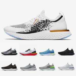 Nike Art of a Champion Mens epic React shoes Cookies Cream Volt Glow Fusion Racer Blue Triple White Black Belgium Men women sports sneakers 36-45