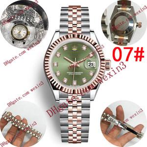 17 Aşıklar Saatler elmas lüks saat erkek kadın otomatik saatı 28mm tasarımcı bayanlar çift seyretmek enfes orologio di lusso