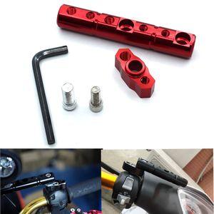 Para Universal motocicleta multifuncional extensão suporte do trilho para Ducati 749 999 1098 1198 S R 749 / S / R 999 / S / R 1198S / R 848 EVO S4RS
