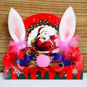 Los productos 1PCS Año Nuevo Adornos de Navidad creativo Partido Gafas Atrezzo fotografía marcos de la decoración DIY Kid Cosplay