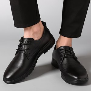 leather Men oxfords Dress Shoes outdoor Fashion Lace-up Wedding Black Shoes Mens Pointed Toe formal Office Shoes big size 47