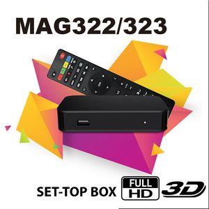 Mag322 Box Chipset BCM75839 512MB OS Linux3.3 Wifi H.265 HD Set Top TV Box