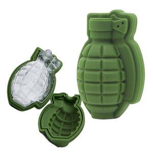 Творческий Candy Плесень Силикагель Grenade Ice Cube 3D Mold Cake Mold Lattice Выпечка Плесень Бар партии подарков Кухня инструмент Easy Demoulding