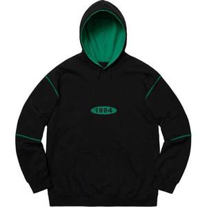 19AW Spread-Logo-Männer Entwerferhoodies-Sweatshirt 1994 Männer Frauen-Qualitäts-Designer Hoodie Paar Street Wear PulloverHoodies Größe S-XL