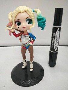 HT Q Posket personaggi principessa Harley Quinn Doll PVC QPosket Principessa del Anime Figura Giocattoli Bambole Figura