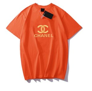 Sıcak satmak Yeni Yaz Erkek Kadın Unisex Tasarımcı T Shirt Kadın Tasarımcı Giyim Top Kısa Kollu Bayan Giyim Boyutu S-XXXL