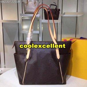 جديد فاخر مصمم حمل المتوسطة الحجم 43x 30X 17cm والموضة النسائية حقيبة يد نموذج M56689SS قماش جلد كلاسيك مخصص العلامة التجارية حقيبة يد