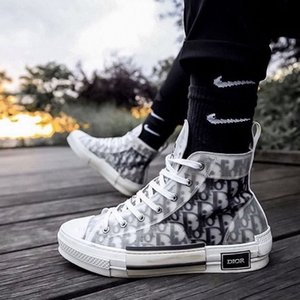 Dior Converse B23 Nike Air Oblique Bleu Slipper AJ1 Mens Designer Slides Shoes Sandals High Top Low B24 Hommes Femme KAWS Kim Jones Women Casual Shoes Sneakers Running Shoes