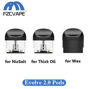 أصيلة Yocan Evolve 2.0 Cartridge 1.0ml Vape Pods for NicSalt Thick Thick and Concentrate Cereal 100٪ Original