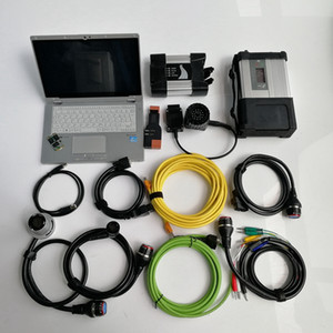 Auto Diagnostic tools 2in1 CF-AX2 Laptop I5 8G SD C5 MB Star C5 for BMW ICOM Next 1TB MINi SSD V12 2020 soft-ware