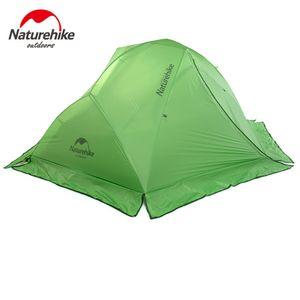 Tenda Naturehike 2 persone Tenda a doppio strato Tenda da campeggio per esterno a quattro stagioni per arrampicata in montagna
