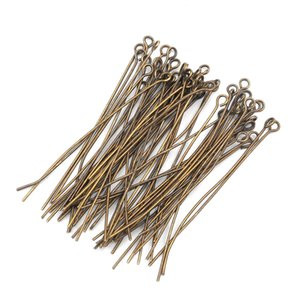 500Pcs Head Pins Eye Pin Jewelry Findings For Necklace Charm Jewelry Making Earrings DIY Accessories