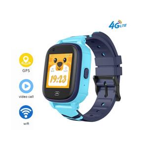 A60 4G الاطفال الذكية الساعات أطفال WIFI للياقة البدنية سوار ووتش GPS متصل IP67 للماء الطفل GPS ساعة ذكية