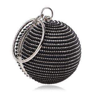 American women bag handbag spherical pearl banquet bag evening bag 3546