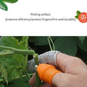 Garden Thumb Knife, Detachable Finger Knife With Anti-Cut Finger Cover, Plant Knife, Trimming Garden Vegetable, Garden Tool