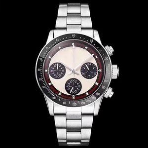 Luxus-Mann-Uhr-Weinlese Perpetual Paul Newman automatische mechanische Uhren Edelstahl-Mann-Herren-Uhren Uhr Armbanduhr # 668