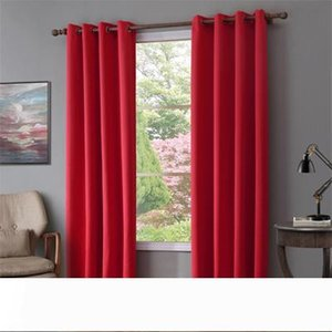 Modern blackout curtain for window treatment blinds finished drapes window blackout curtains for living room the bedroom blinds