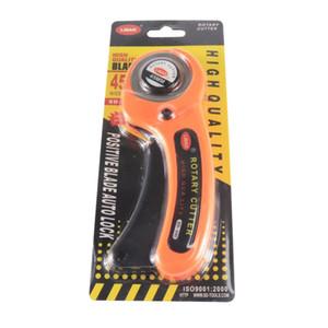 Panno Rotary Cutter fai da te Arte e Mestieri Cutting Tool Patchwork Wheel Roller coltelli rotonda Accessori di cucito in pelle di carta Tessuto strumento DBC VT1181