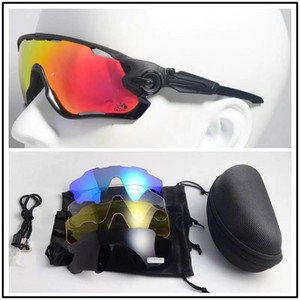 Marca Polarized 5 lenti migliore qualità Mountain Bike Occhiali ciclismo Occhiali da sole di riciclaggio della bicicletta i vetri esterni sunaglasses sportivi