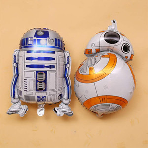 BB8 robot di alluminio Balloons Sta War Kids Balloon Birthday Party Decoration Cartoon Party Supplies giocattolo per bambini