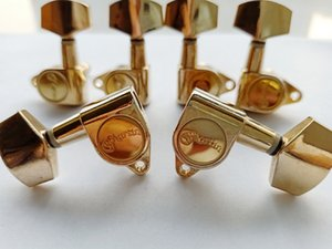 Custom Gold Guitar Tuning Pegs Guitar Tuner Machine Head Gold 6pcs 3R+3L in stock only 10 set Left