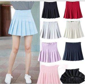 Best A Line Gift Item Women Fashion Summer High Waist Pleated Skirt Wind Cosplay Skirt Kawaii Female Mini Skirts Short Under It
