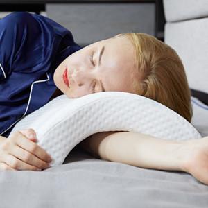 Summer Cool Pillow Care Cervical Pillow Memory Pillow Massager Sleeping Aid Office Break Couple Lovers Home Beddings GT97