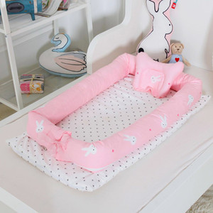 Nouveau-né de couchage pour bébé multi-fonction pliante anti-pression Bionic Nest unisexe Lit de bébé MAR15