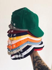 American Single curved brim cap men and women couple baseball cap sunshade leisure versatile hat fashion
