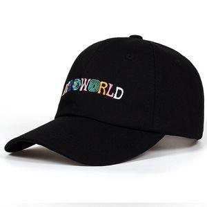 Nouvelle arrivée 100% coton AstroWorld Baseball Caps Travis Scott unisexe Astroworld papa Chapeau Broderie de haute qualité