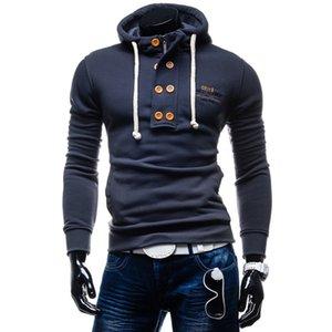 Zogaa 2019 New Spring and Autumn Men's Hoodies&Sweatshirts Long Sleeve Solid Color Men's Hoodie Slim Fit Cotton champion hoodie