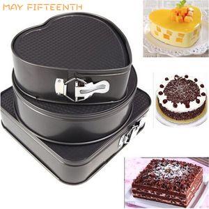 Инструменты для выпечки кондитерских изделий большого размера для спекания Форма для выпечки Съемный антипригарный Springform Cake Pan Выпечка Набор Cake Tool 005
