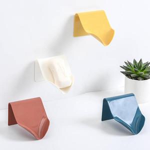 배수 벽 선반 플라스틱 목욕 트레이 도매 새로운 비누 홀더 욕실 샤워 비누 접시 샤워 플레이트 스토리지 박스
