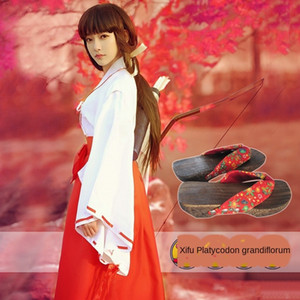 h2L6Q Inuyasha anime COS Inuyfork anime Moon clothing dress platycodon grandiflorum dress at night Platycodon grandiflorum witch cosclothes