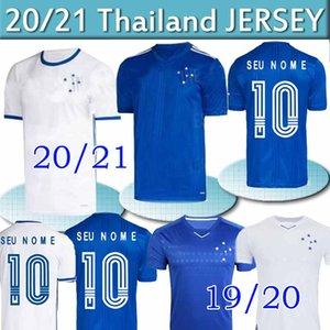 2020 크루 제 이루 축구 유니폼 (19) (20) (21) 브라질 DE ARRASCAETA FRED 호비뉴 티아고 NEVES 축구 셔츠 크루 제 이루 홈 브라질 클럽 남자 Camisas 타