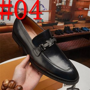 men genuine leather shoes luxurious handmade loafers slip on italian brand designers male dress shoes big size 38-45