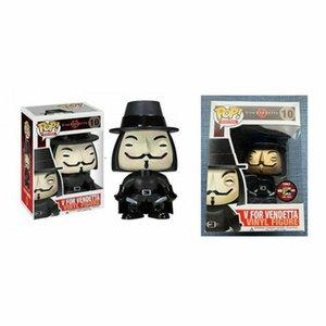 Funko POP V for Vendetta !!! Model Vinyl Vendetta Figure #10 & #10 Gold NEW Action & Toy Figures